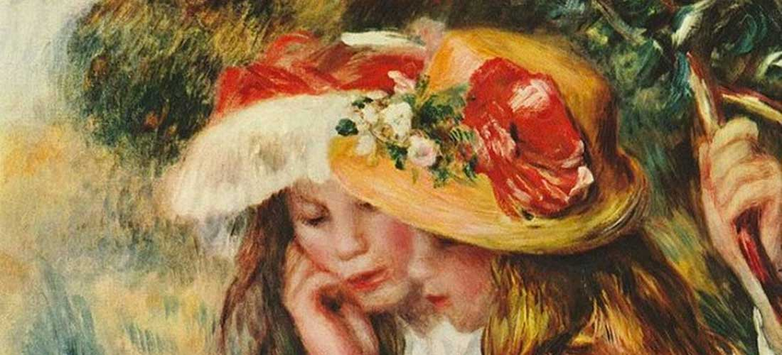 Puzzle Due Ragazze Che Leggono Renoir
