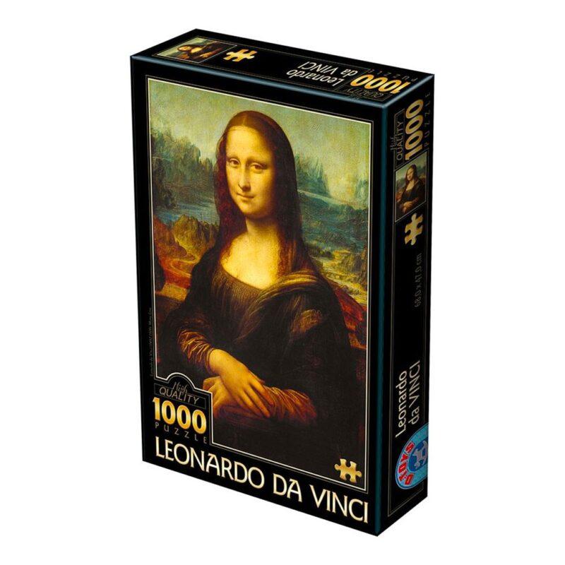 Puzzle Gioconda Arte Dtoys 1000 Pezzi