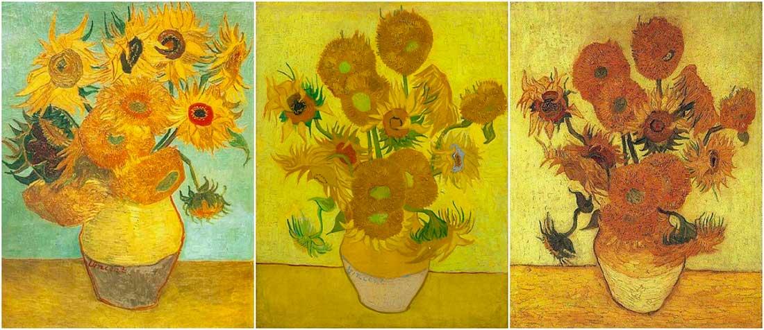 Puzzle Girasoli Van Gogh 1000 Ossessione Soggetto Girasoli