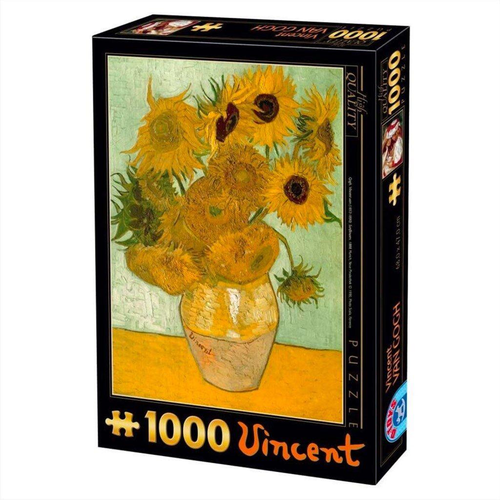 Puzzle Girasoli Van Gogh 1000 Pezzi