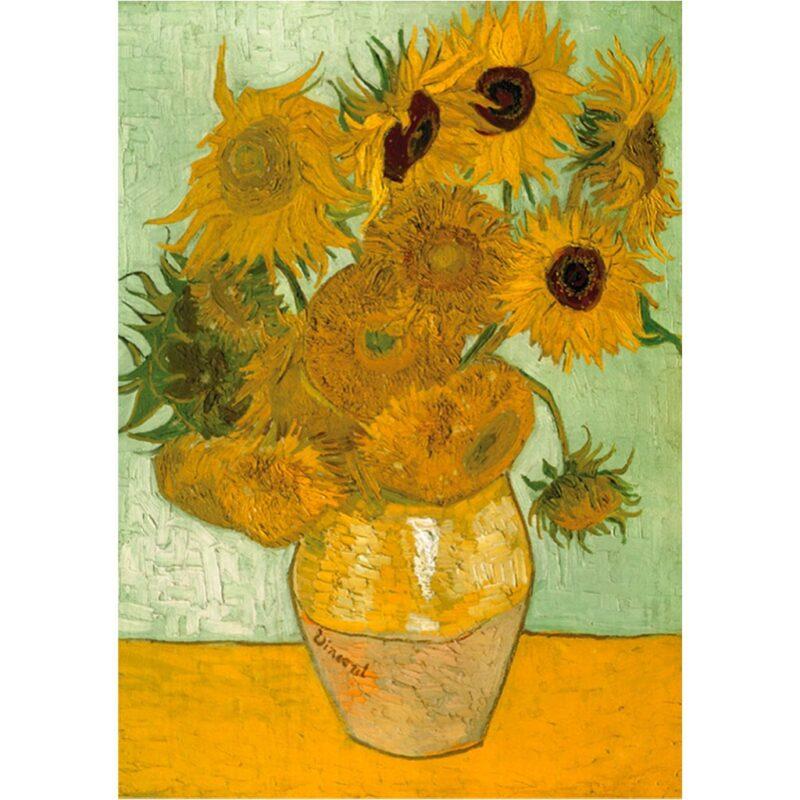 Puzzle Girasoli Van Gogh 1000 Pezzi Arte