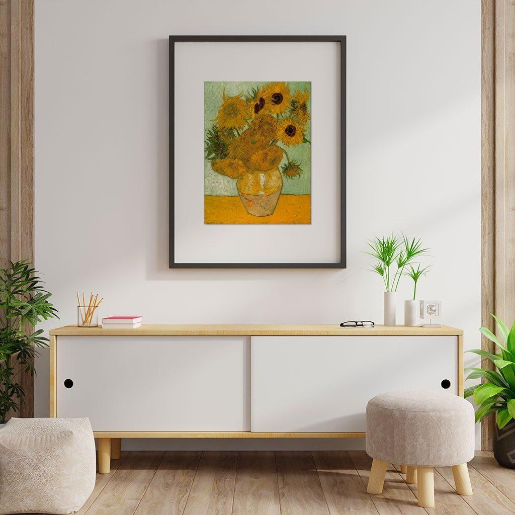 Puzzle Girasoli Van Gogh 1000 Pezzi Cornice