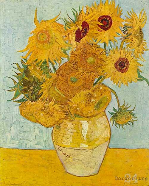 Puzzle Girasoli Van Gogh 1000 Pezzi Dettaglio Opera