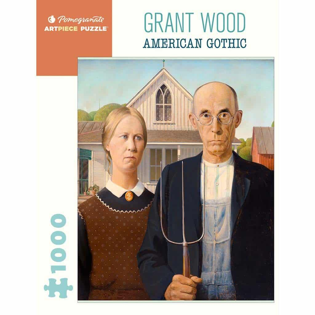 Puzzle Grant Wood American Gothic