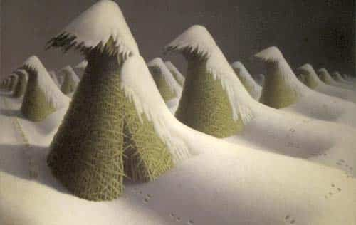 Puzzle Grant Wood January