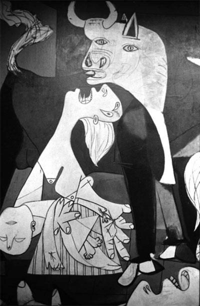 Puzzle Guernica Quadro Opera Particolare
