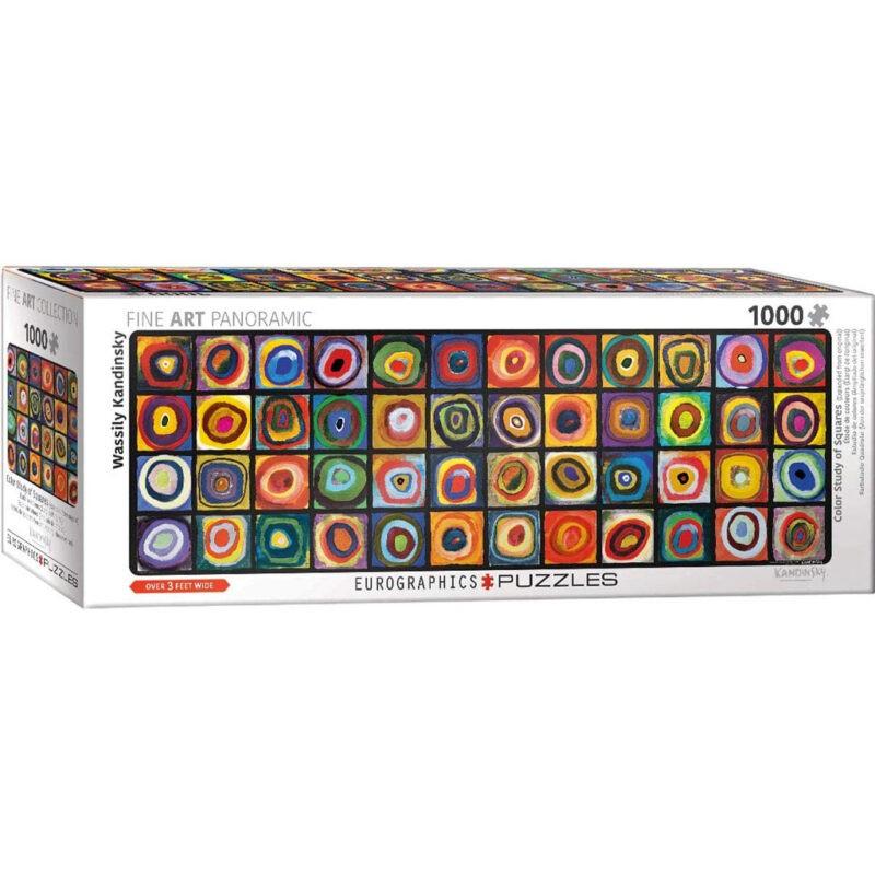 Puzzle Kandinsky Lo Studio Del Colore Panoramico