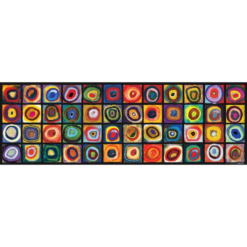 Puzzle Kandinsky Studio Del Colore Panoramico
