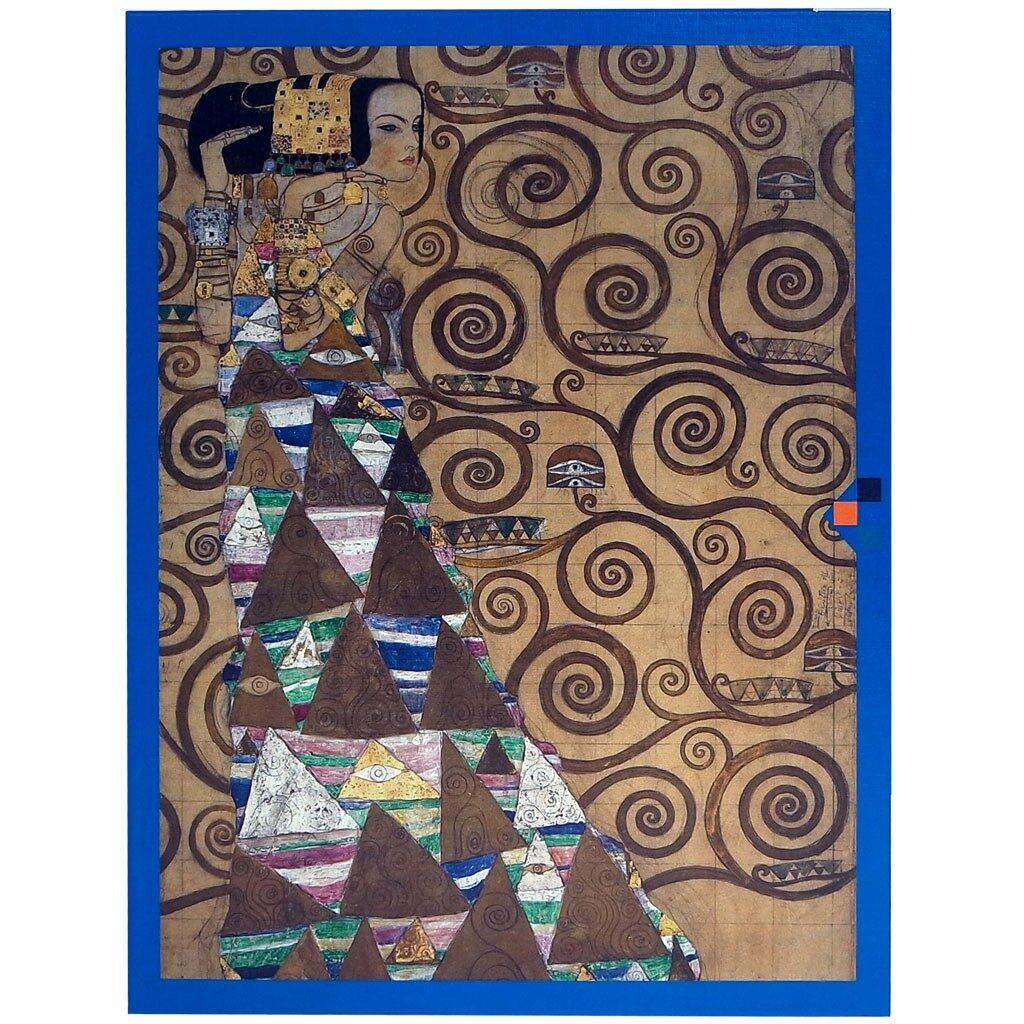 Puzzle Klimt L Attesa Fronte