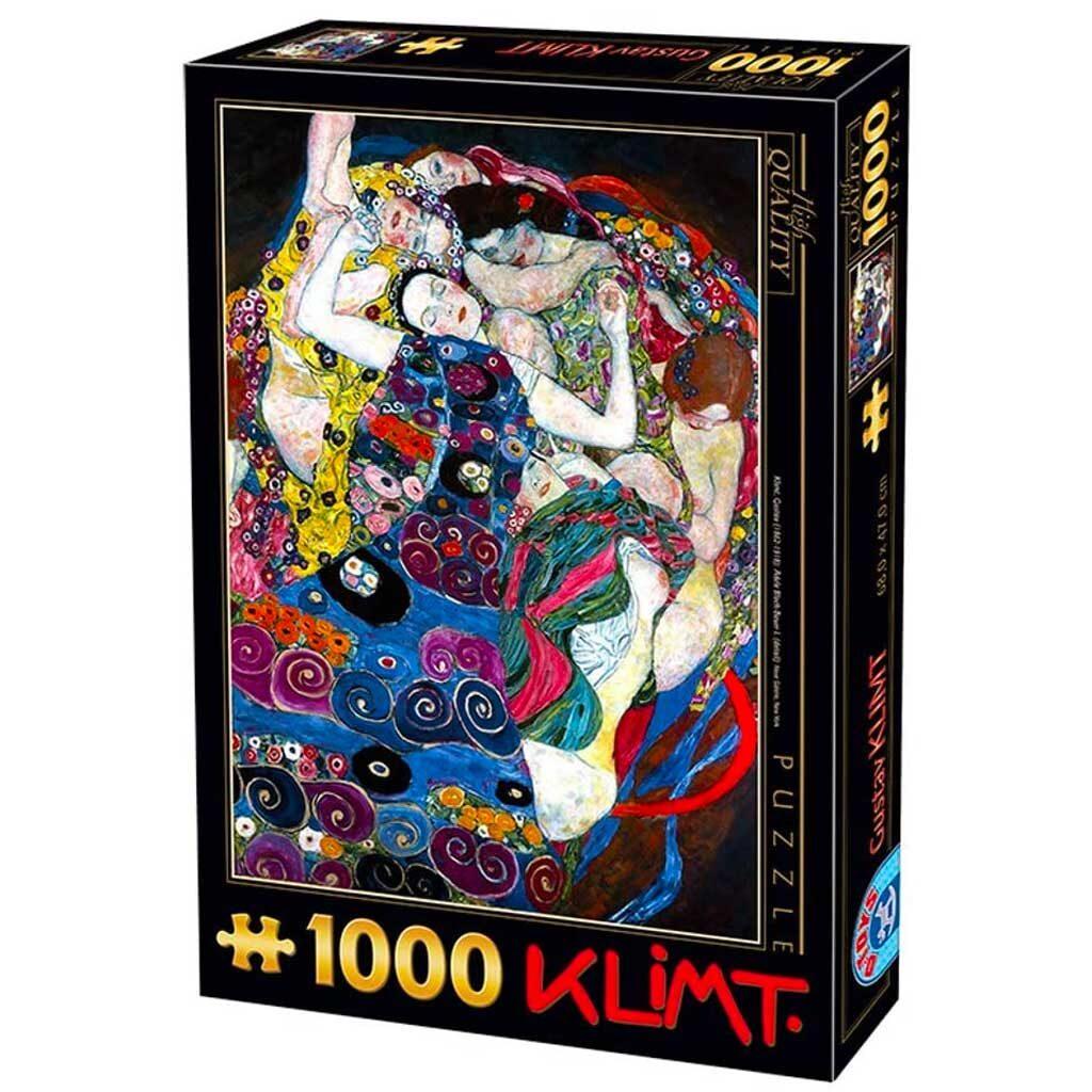Puzzle Klimt La Vergine 1000 Pezzi Dtoys