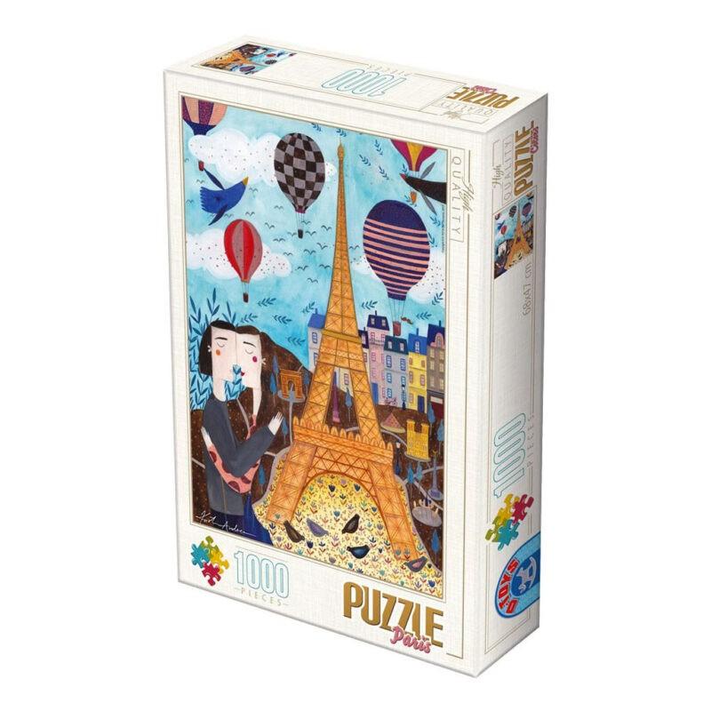 Puzzle Kurti Parigi