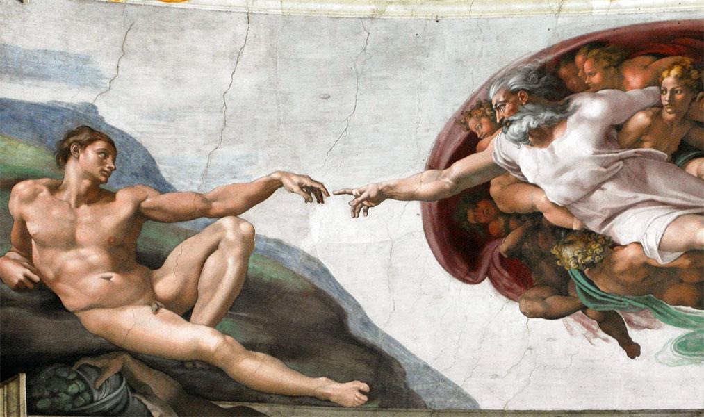 Puzzle La Creazione Di Adamo