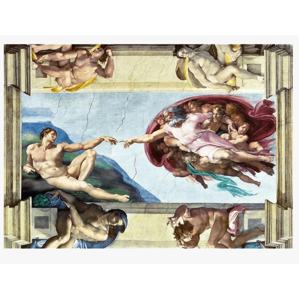 Puzzle La Creazione Di Adamo Michelangelo