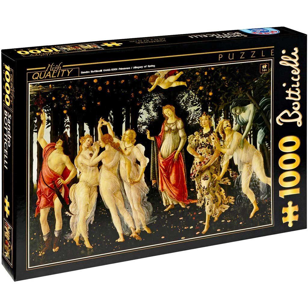 Puzzle La Primavera Botticelli Dtoys