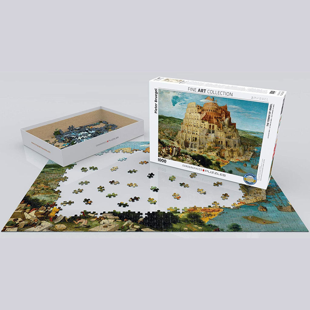 Puzzle La Torre Di Babele Bruegel