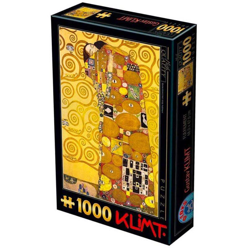 Puzzle Labbraccio Di Klimt 1000 Pezzi