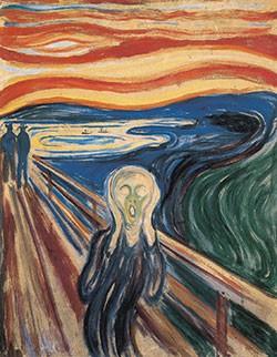 Puzzle Lurlo Di Munch 1910. Tempera Su Pannello Arte Svelata