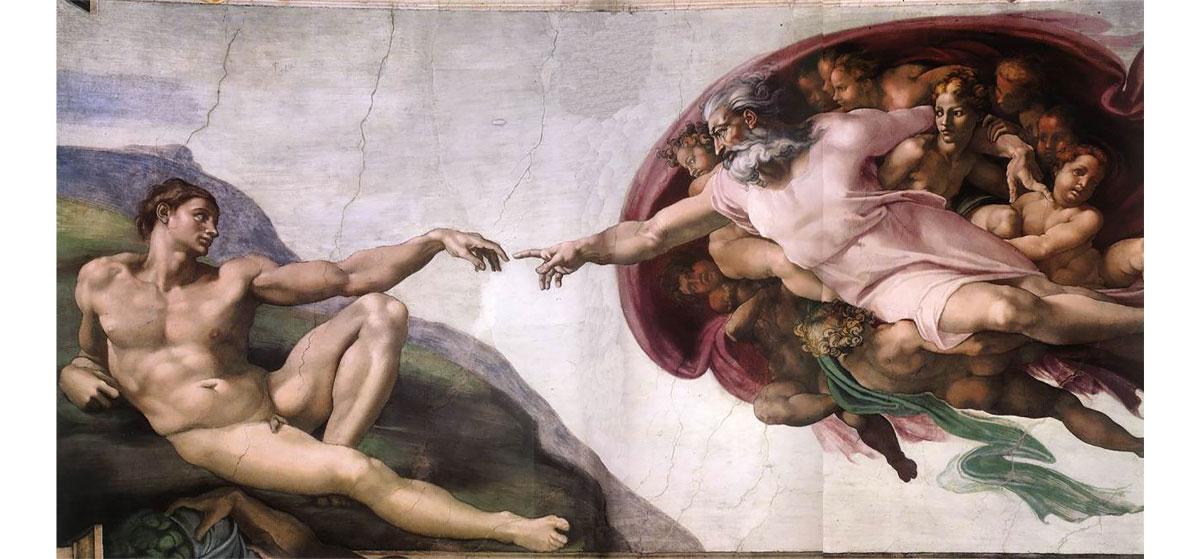 Puzzle Michelangelo Creazione Di Adamo