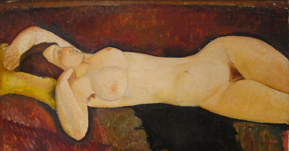 Puzzle Modigliani Grande Nudo Disteso
