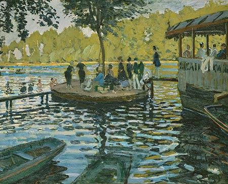 Puzzle Monet La Grenouillère