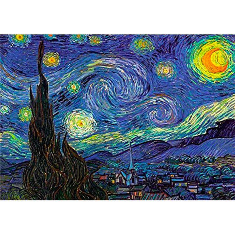 Puzzle Notte Stellata Dettaglio Dtoys 1000 Pz