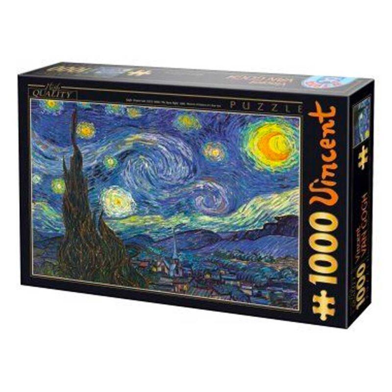 Puzzle Notte Stellata Van Gogh D Toys 1000 Pezzi Arte