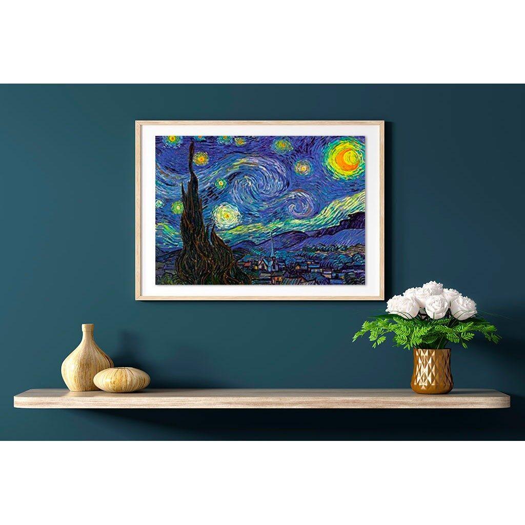 Puzzle Notte Stellata Van Gogh D Toys 1000 Pezzi Arte Cornice Quadro