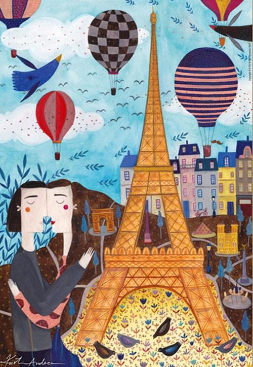 Puzzle Parigi Kurti