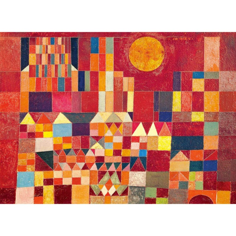Puzzle Paul Klee Castello E Sole