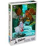 Puzzle Per Bambini 4 Anni 100 Pezzi Lupo Agnello D Toys