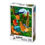 Puzzle Per Bambini 5 Anni 240 Pezzi Volpe Cicogna D Toys