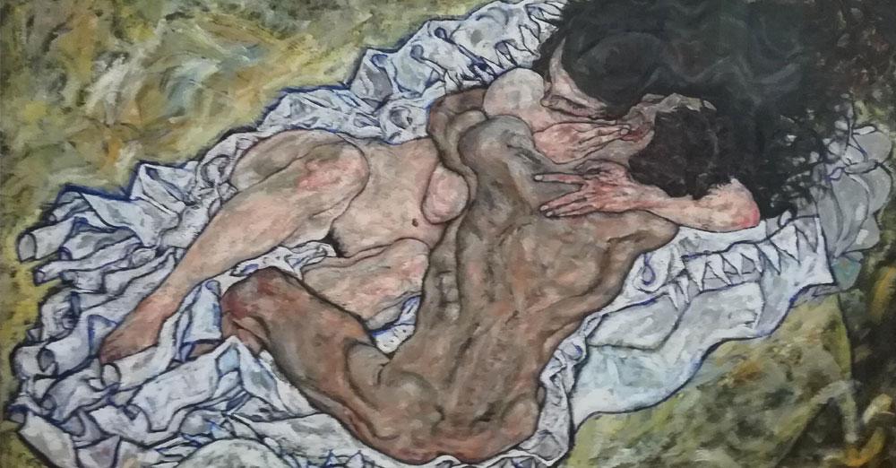 Puzzle Schiele L'abbraccio