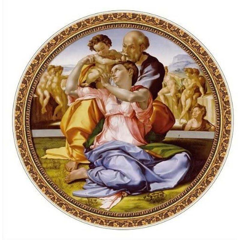 Puzzle Tondo Doni Michelangelo