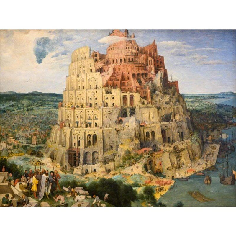 Puzzle Torre Di Babele Bruegel