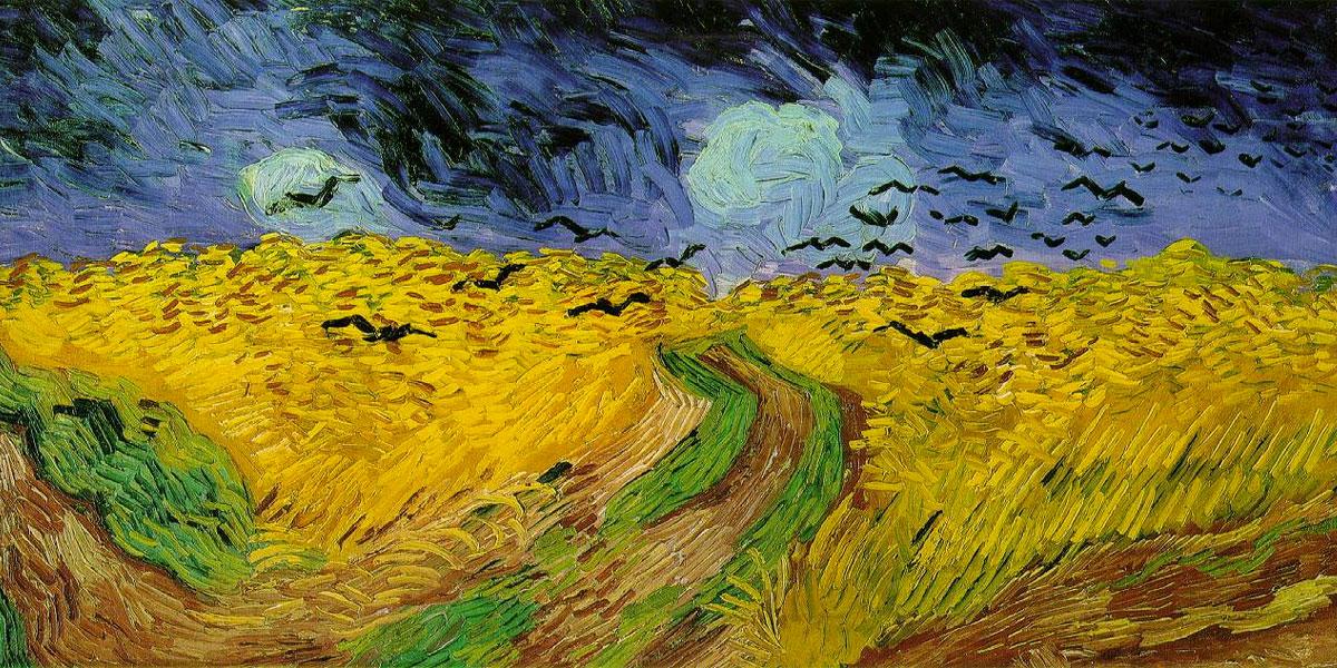 Puzzle Van Gogh Campo Di Grano Con Volo Di Corvi