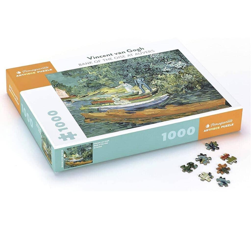 Puzzle Van Gogh Riva Dell'oise Ad Auvers