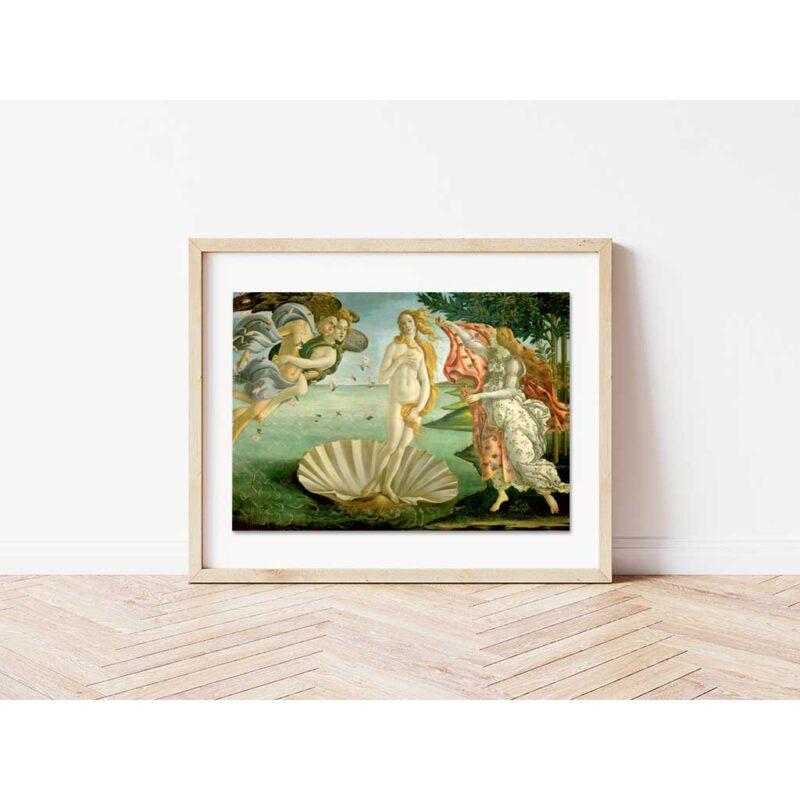 Puzzle Venere Di Botticelli Cornice