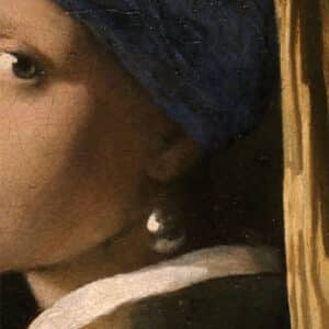 Puzzle Vermeer Dettaglio Orecchino Di Perla