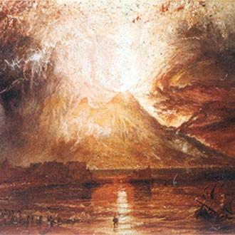 Puzzle William Turner Eruzione Del Vesuvio