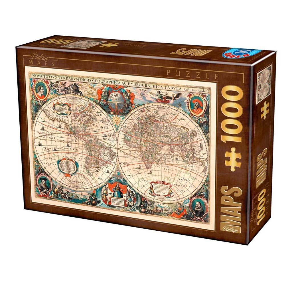 Puzzle World Map