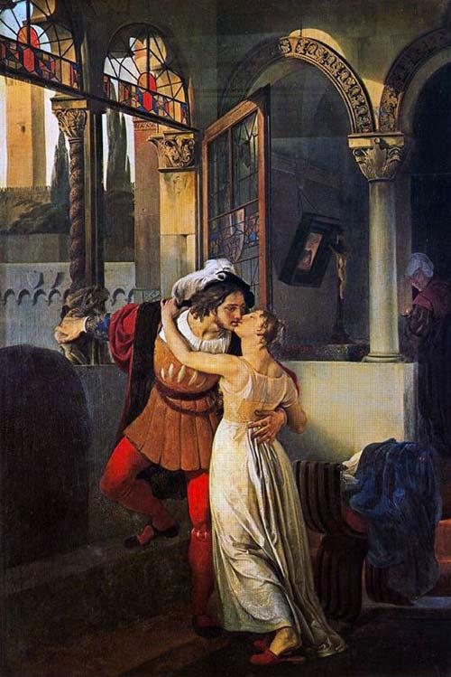 Romeo E Giulietta Hayez