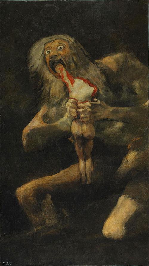 Saturno Che Divora I Suoi Figli Goya