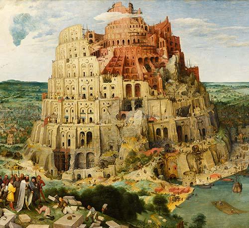 Torre Di Babele Brugel