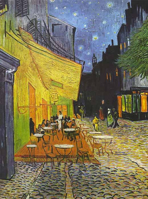 Van Gogh Arles Cafe Puzzle