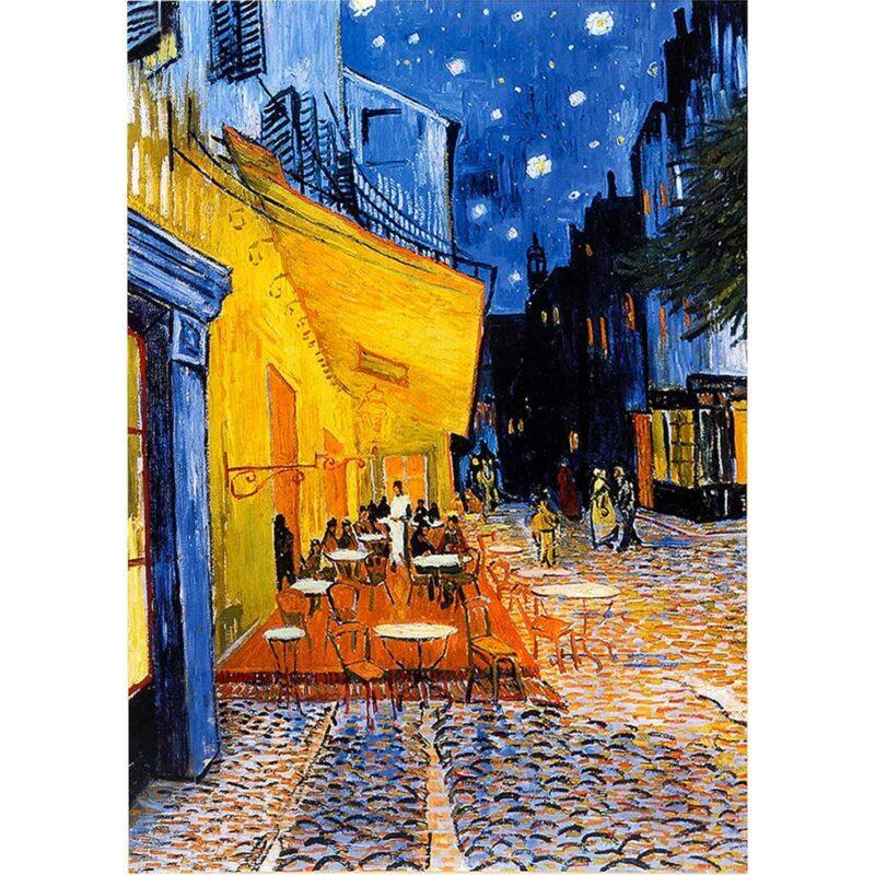 Van Gogh Arles Cafe Terace D Toys Puzzle 1000 Pezzi