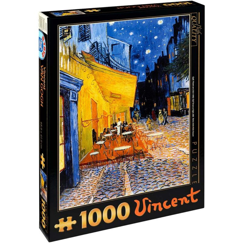 Van Gogh Arles Cafe Terace Puzzle 1000 Pezzi