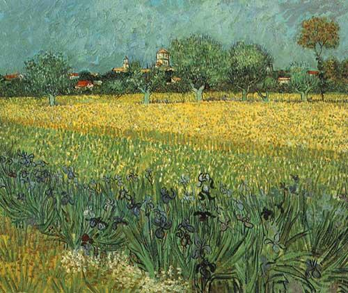 Veduta Arles Van Gogh