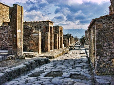 Veduta Pompei